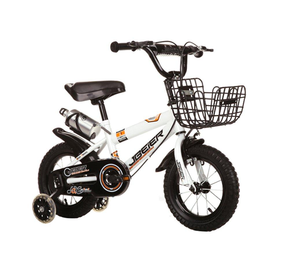 子供用自転車、子供4-6-8-11歳の男の子、12/14/16/18インチマウンテンバイク ( 色 : 白 , サイズ さいず : 16 inches ) B07CNDYN99 16 inches|白 白 16 inches
