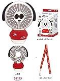 ミニサイズ扇風機 SNOOPY スヌーピー/ハンディ扇風機/ハンディファン/置き型/手持ち/卓上/扇風機/光る/LED/ハンディ/アニマル型/可愛い/おしゃれ/携帯扇風機/ミニ扇風機/オルチャン風 (レッド)