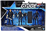 G.I. Joe, 50th Anniversary, Special Forces Action Figure Set (Outback, Falcon, and Shooter), 3.75 Inches