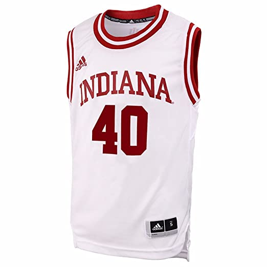 d21d56c659a Cody Zeller  40 Indiana Hoosiers White Away Replica Youth Jersey (Small)