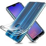 Youriad Huawei P20 lite ケース カバー | 透明 クリア ソフト カバー| 特徴 軽量 インチ 薄型 ストラップ 滑り止め ワイヤレス充電対応 落下防止 TPU(Huawei P20 lite カバー 専用)