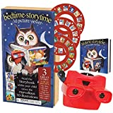 New Bedtime StoryTime 3D Picture VIewer With Story Book 3 Bed Time Storied Give Your Child the 3D Viewer, and Slide in One of The Rotating Picture Discs to Get Started