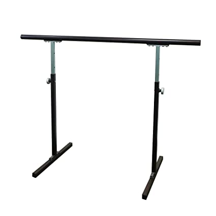 "Amazon.com : Softtouch Ballet Barre 4 ft. Portable Dance Bar - Adjustable Height 31"" - 49"" - Freestanding Stretch Barre 46"" : Ballet Equipment : Sports & ..."