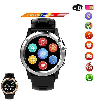 Amazon.com: 3 G relojes inteligentes Android 4.4 OS de apoyo ...