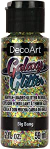 Deco Art DecoArt Galaxy Glitter Acrylic Paint 2oz-Big Bang-Multi