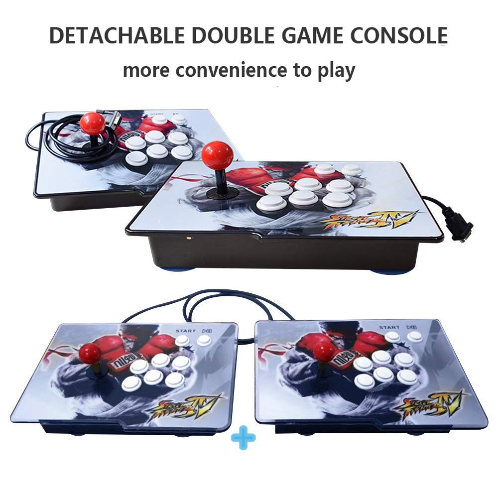PinPle Arcade Game Console 1080P 3D & 2D Games 2260 2 in 1 Pandora's Box 3D 2 Players Arcade Machine with Arcade Joystick Support Expand Games for PC / Laptop / TV / PS4 (Pandora's Box) by PinPle (Image #3)