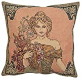 Mucha Spring I European Cushion Cover