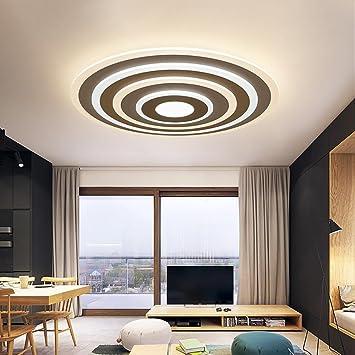 CAIDUO Moderno LED Plafoniere Promise oscuramento Lampade da parete per Soggiorno Ufficio Bagno Corridoio 51W