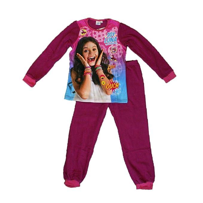 Soy Luna - Pijama - para niña Morado 4 años