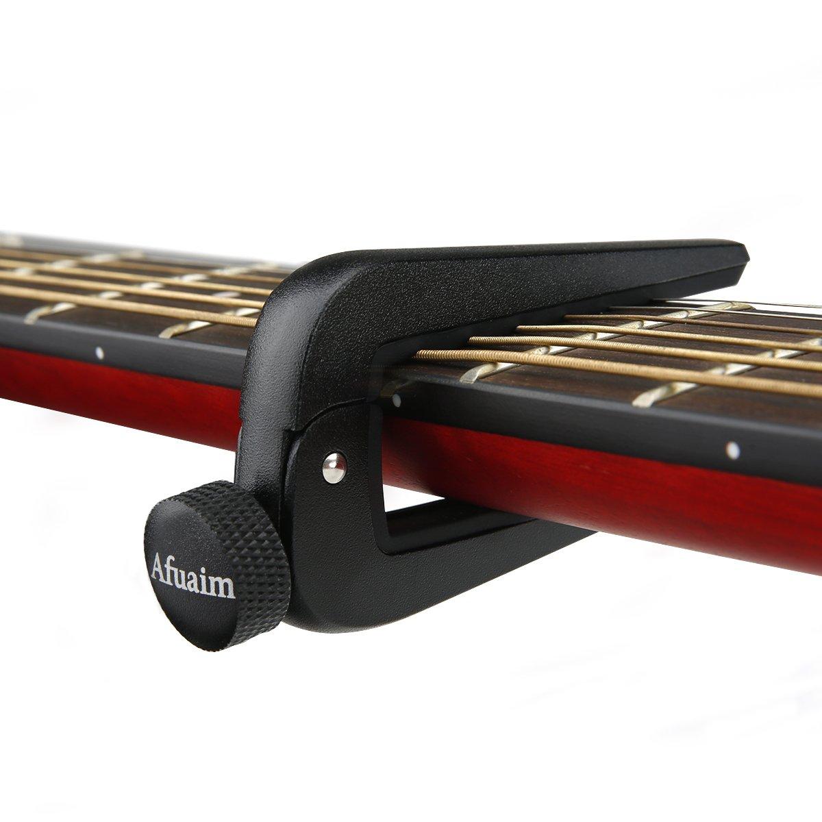 colore argento con sgancio rapido e forcella estrattore per pioli capotasto adatto per chitarre elettriche e acustiche Adagio Pro Deluxe