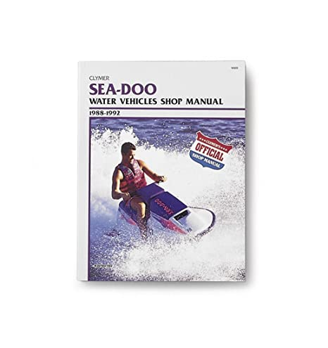 Clymer Sea-Doo 580-800 1988-1996 Manual W809-3