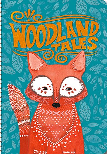 Orange Circle Studio 17-Month 2017 On-Time Weekly Planner, Woodland Tales (33105)