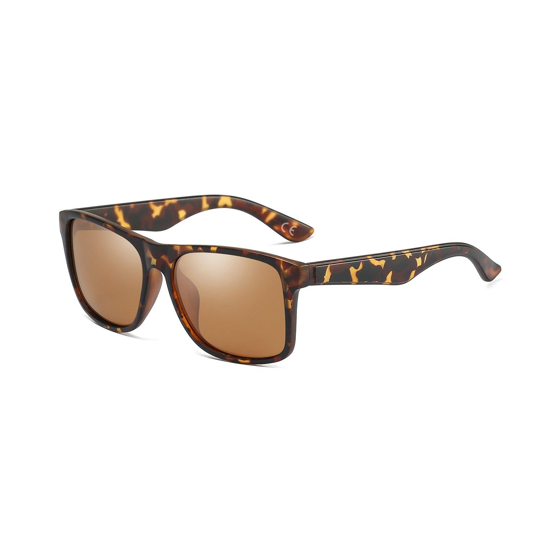 1c9a9b11e6 85% OFF BLEVET Retro Wayfarer Gafas de Sol Polarizadas para Hombre y Mujer  UV400 Protección