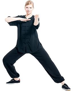 3318e9d2f Amazon.com : BlueSkyDeer Women's Meditation Clothing Tai Chi Uniform ...