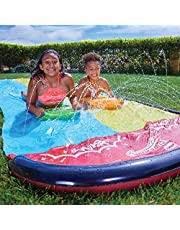 Wham-O 64120 Slip N Slide Classic Wave Rider Double 16ft met 2 boogies, multicolour