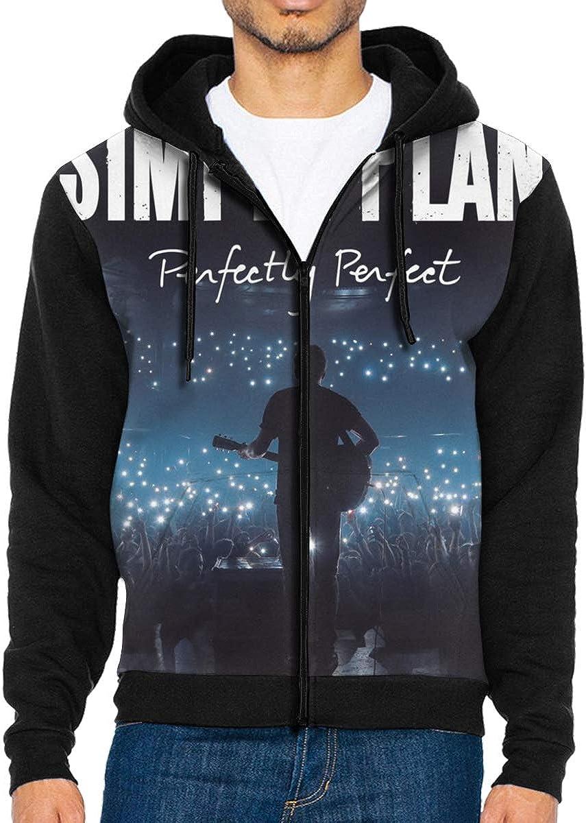 Silence Simple Plan Perfectly Perfect Mens Jacket Hoodie Black