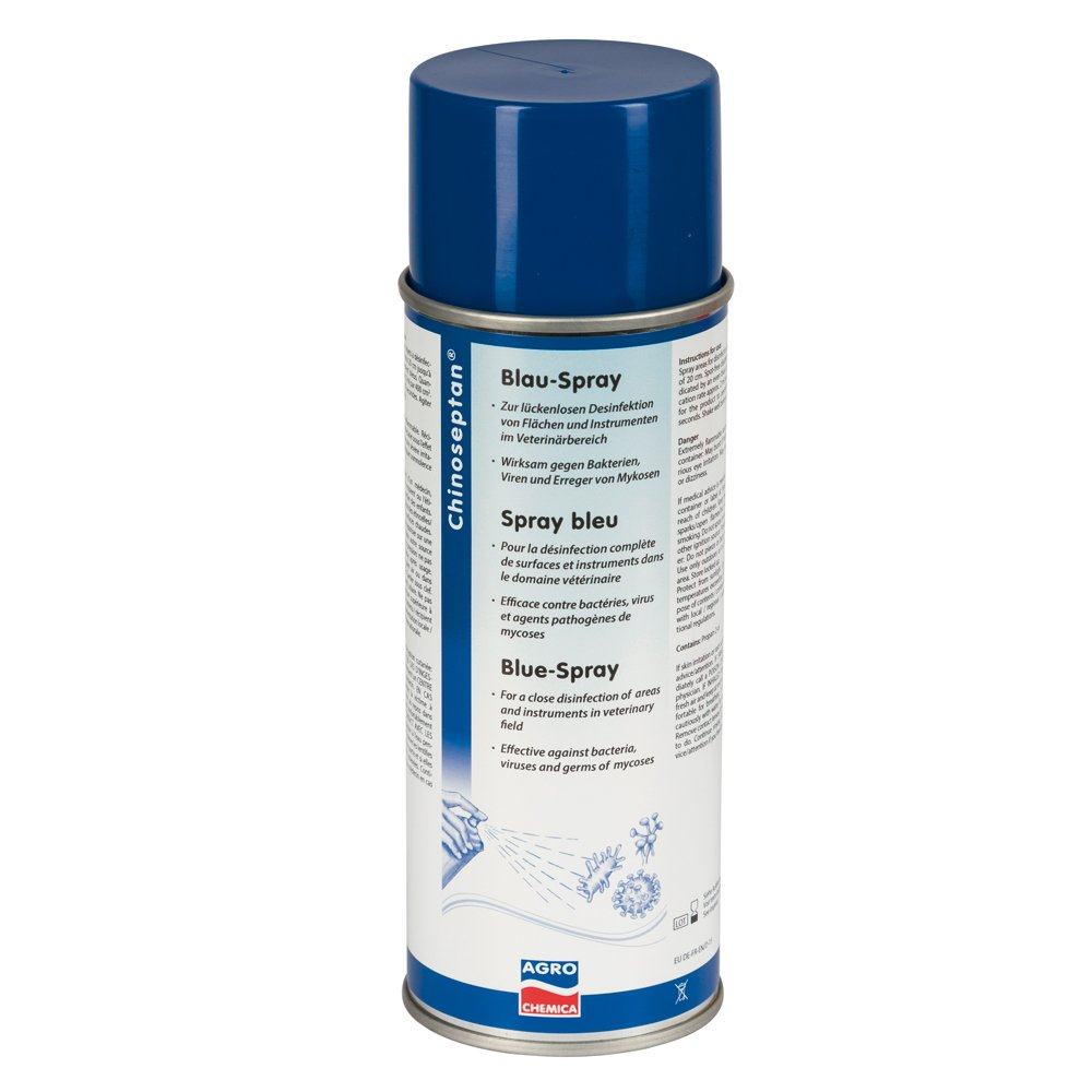 Chinoseptan-Blauspray -400ml- Kerbl