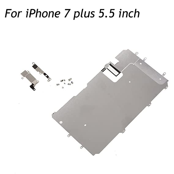 cheap for discount 2bc8e f3966 oGoDeal LCD Screen Metal Back Shield Plate Assembly Replacement for iPhone  7 Plus with Small Parts Set (5.5