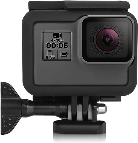 Shoot estándar de Frame Marco Caja Schützer Incluye cierre rápido hebilla para GoPro Hero 2018 Hero 6 Hero 5 Cámara: Amazon.es: Deportes y aire libre