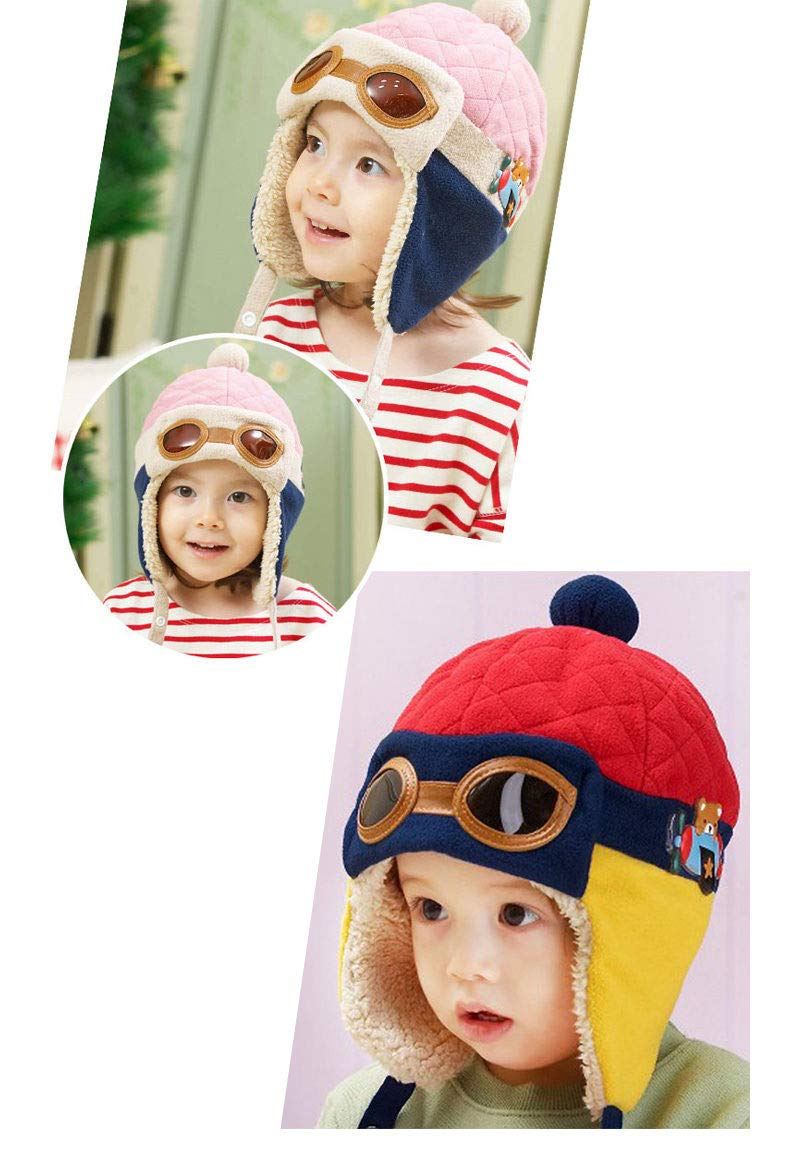 3d43708d24c Scrox 1Pcs Lovely Toddlers Baby Child Winter Hat Cool Baby Boy Girl Kids  Thick Hat Head larger image