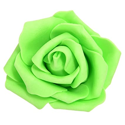 Image Unavailable. Image not available for. Color  TOOGOO(R) 100PCS Foam  Rose Flower Bud Wedding Party Decorations Artificial Flower Diy Craft 045a55b680