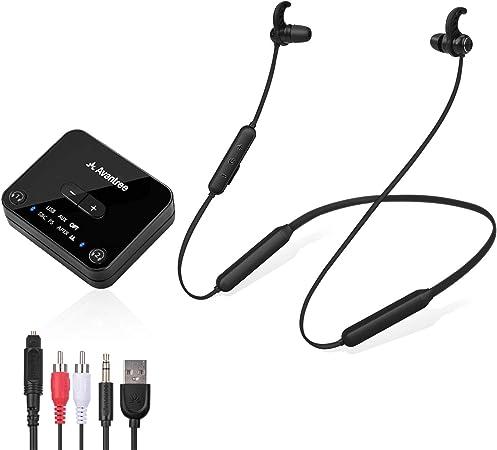 Avantree HT4186 Wireless Headphones Earbuds F