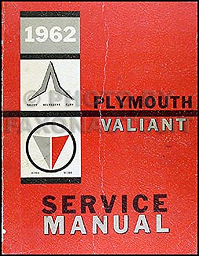 1962 Plymouth and Valiant Repair Shop Manual ()