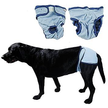 s-lifeeling perro hembra pañales cachorro Protectve protectores pantalones cachorro grande/pequeño