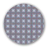 Uneekee Steampunk Tiles Lazy Susan: Large, pure birch wooden Turntable Kitchen Storage