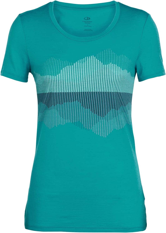 Icebreaker Womens Tech Lite Polar Fox T-Shirt Merino T-Shirts
