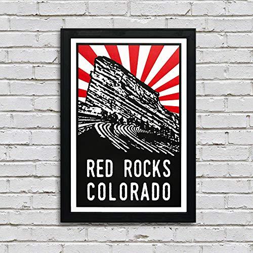 Red Rocks Colorado Art Print/Poster - 13x19