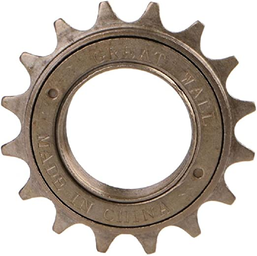 "ACS Maindrive 1//2/"" x 1//8/"" Freewheels 16 17 or 18 Teeth Chrome Old School BMX"
