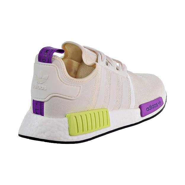vendido en todo el mundo muy agradable cupón doble Buy Adidas Men's NMD_R1 10 M US Chalk White/Semi Solar Yellow at ...