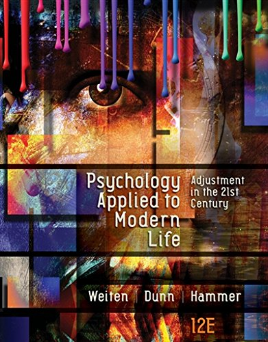 1305968476 - Psychology Applied to Modern Life: Adjustment in the 21st Century