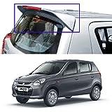 Autopearl Premium Quality Oe Type Car Spoiler For - Maruti Suzuki Alto 800 (New Greynite Grey)