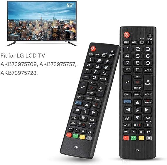 Topiky Sustitución del Mando a Distancia para LG Smart LCD TV AKB73975709 / AKB73975757 / AKB73975728: Amazon.es: Electrónica