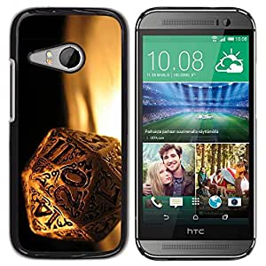 LECELL -- Funda protectora / Cubierta / Piel For HTC ONE MINI 2 / M8 MINI -- Magic Dice --