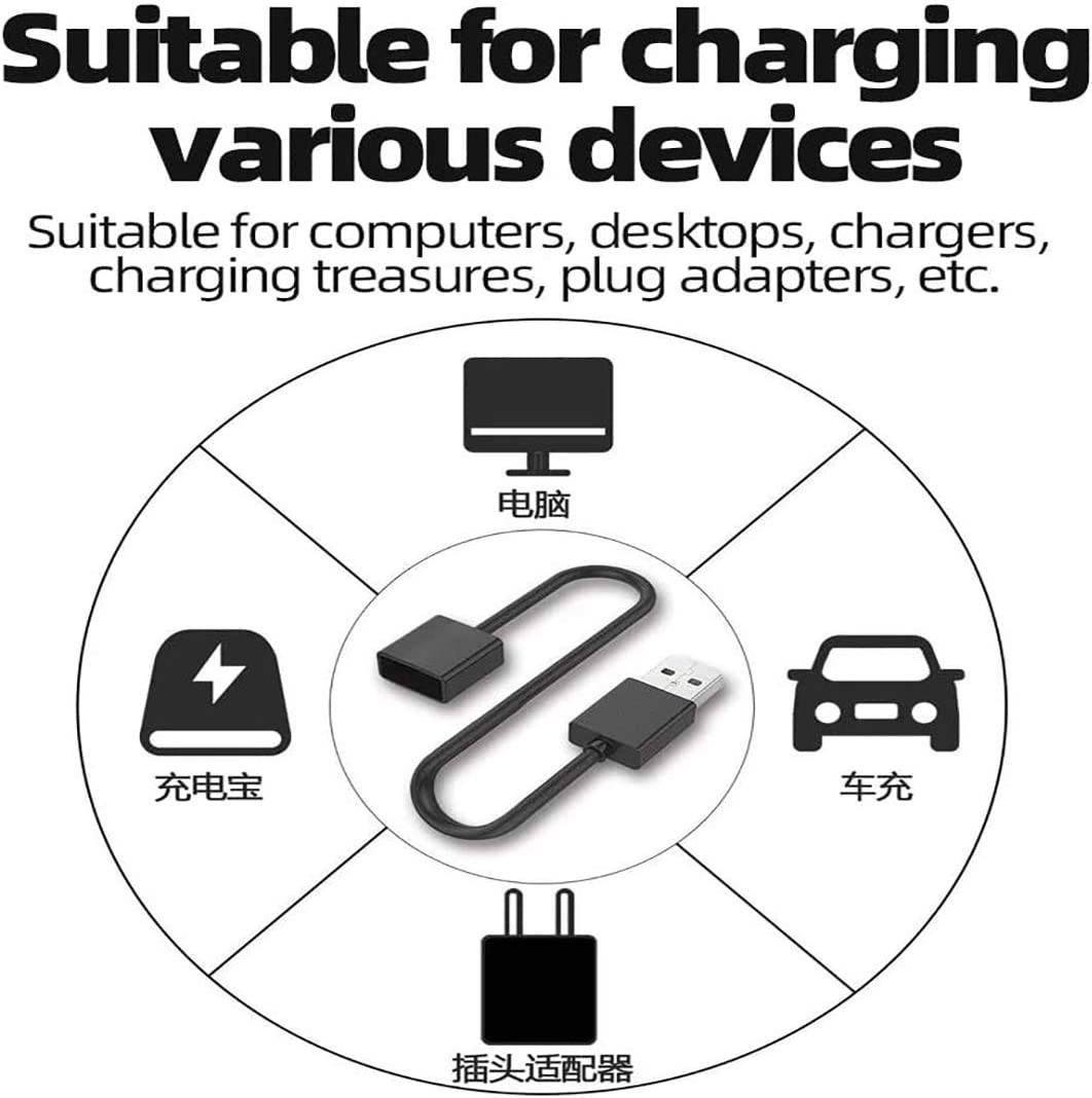 Magnetic USB Smart Charger Cable,Fast Charging Cable for 2.6Feet.Smart USB Rapid Charger Cable. 1 Pack