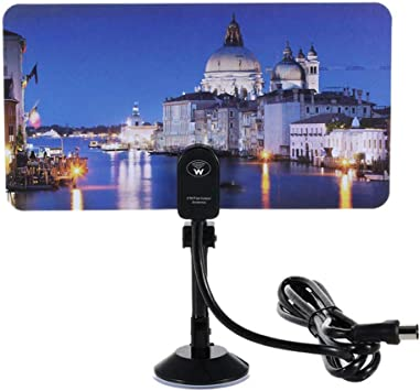 BangHaa Versión Antena de TV, UHF VHF cubierta HDTV digital ...