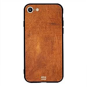 iPhone 6/ 6s Case Cover Orange Brown Leather Pattern, Moreau Laurent Protective Casing Premium Design Covers & Cases