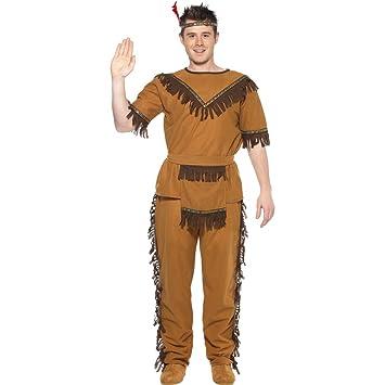 Disfraz de indio americano Western indios de la tribu de vestuario ...