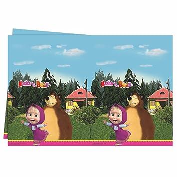 Masha y el Oso Mantel | 120 x 180 cm Niños Cumpleaños ...
