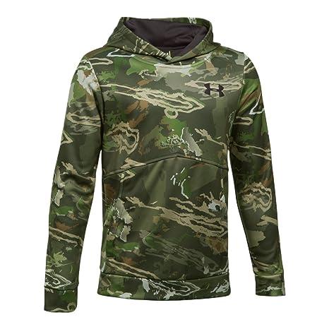 d08131ea874b4 Under Armour Boys' Icon Camo Hoodie, Sweatshirts & Hoodies - Amazon ...
