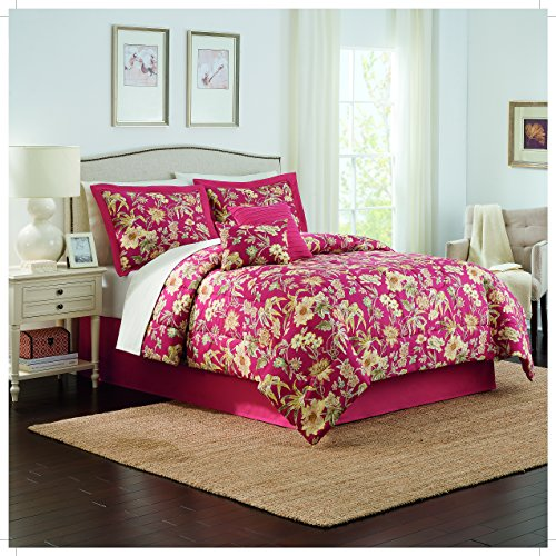 traditions by waverly 6 piece honeymoon comforter queen - Waverly Bedding