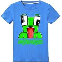thombase UNSPEAKABLE Boys Girls T-Shirt Youtuber Kids Fashion Tops Shirt