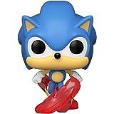 Funko Pop! Games: Sonic 30th Anniversary - Running Sonic The Hedgehog Vinyl Figure, 3.75 inches