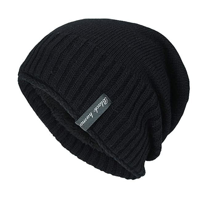 316038fdfca7f4 Beanies for Men Wool Hat Knitted Winter Hat Men Skullies Male Cap Winter  Keep Warm Cap