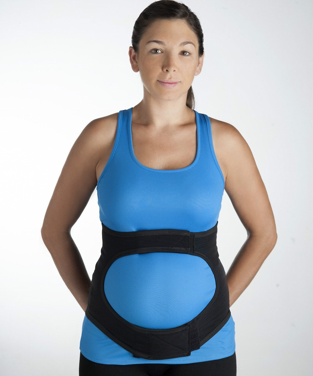 Spand-Ice The Maternity Relief Wrap: Wearable Ice/Heat Therapy for Back Pain Relief and Belly Support, Includes 2 Thermal Therapy Packs - Large/X-Large by Spand-Ice (Image #2)