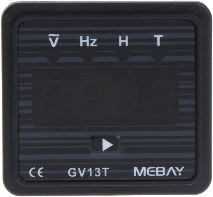 ZHOUMO GV13T AC220V Generator Digital Voltmeter Frequenz Stunden Test Panel Meter