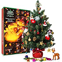 SWEET DIARY Tabletop Christmas Tree with Countdown 2018 Calendar